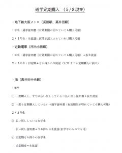 払い戻し 大阪 メトロ 定期
